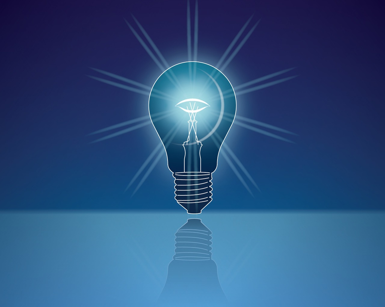 Creation Peak, light bulb