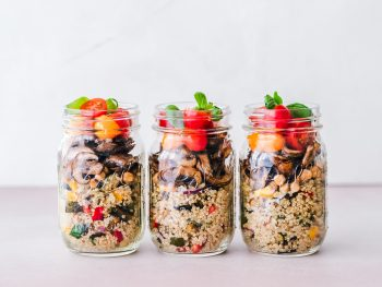 healthy eating for busy entrepreneurs meal prep jars