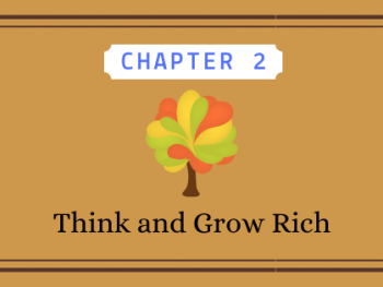 Think and Grow Rich chapter 2