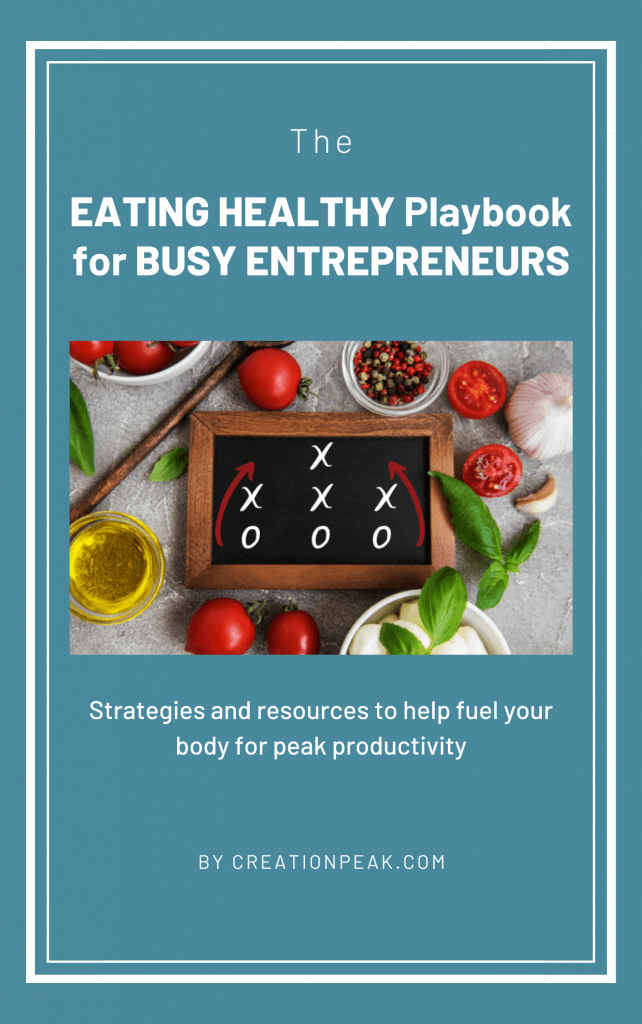 Eating Healthy Playbook for Busy Entrepreneurs cover