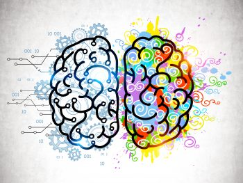analytical mind vs creative mind concept