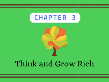 Think and Grow Rich chapter 3 cover