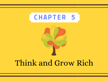 Think and Grow Rich Chapter 5 post graphic