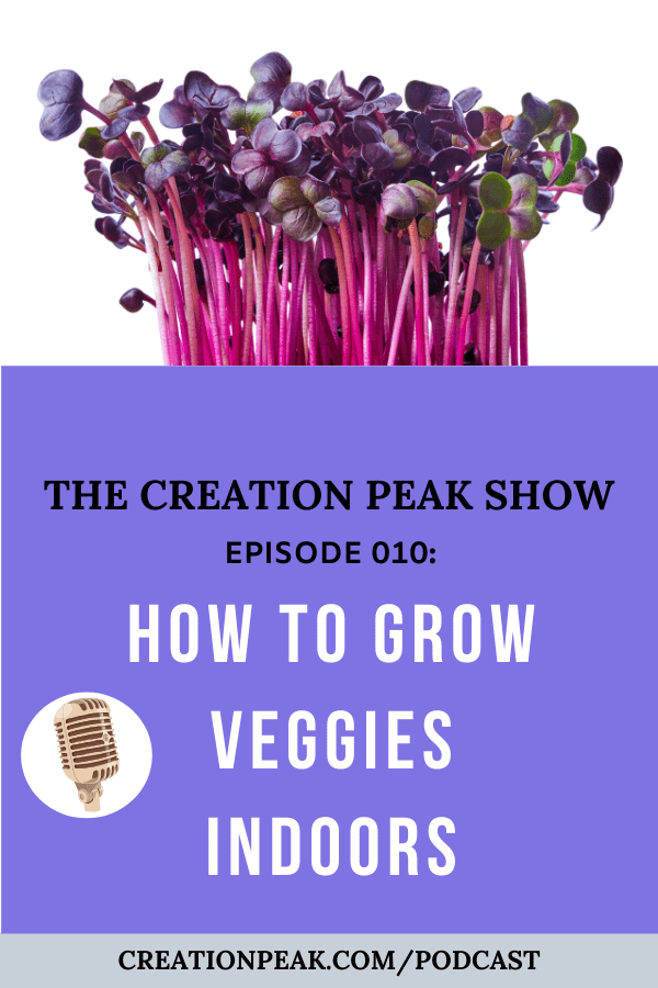 CP 010: How To Grow Veggies Indoors for Beginners